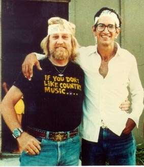 Whitey Ray Huitt and Townes Van Zandt photo